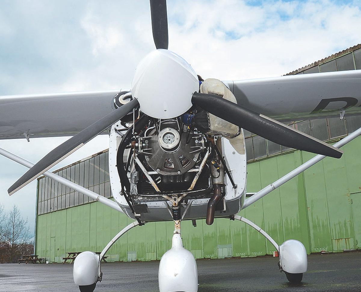 UL-Triebwerk: Smart CDI Diesel von FlyEco
