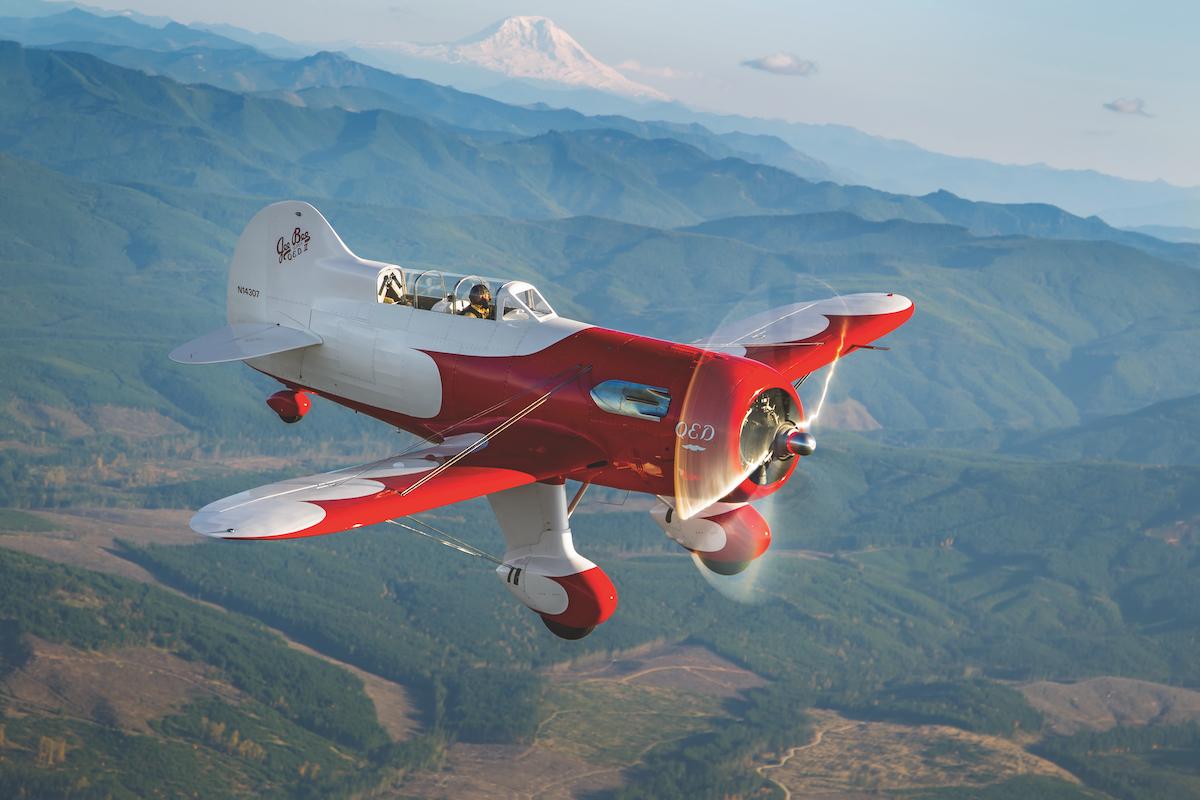 Flugzeugporträt: Gee Bee Q.E.D. II von Jim Moss