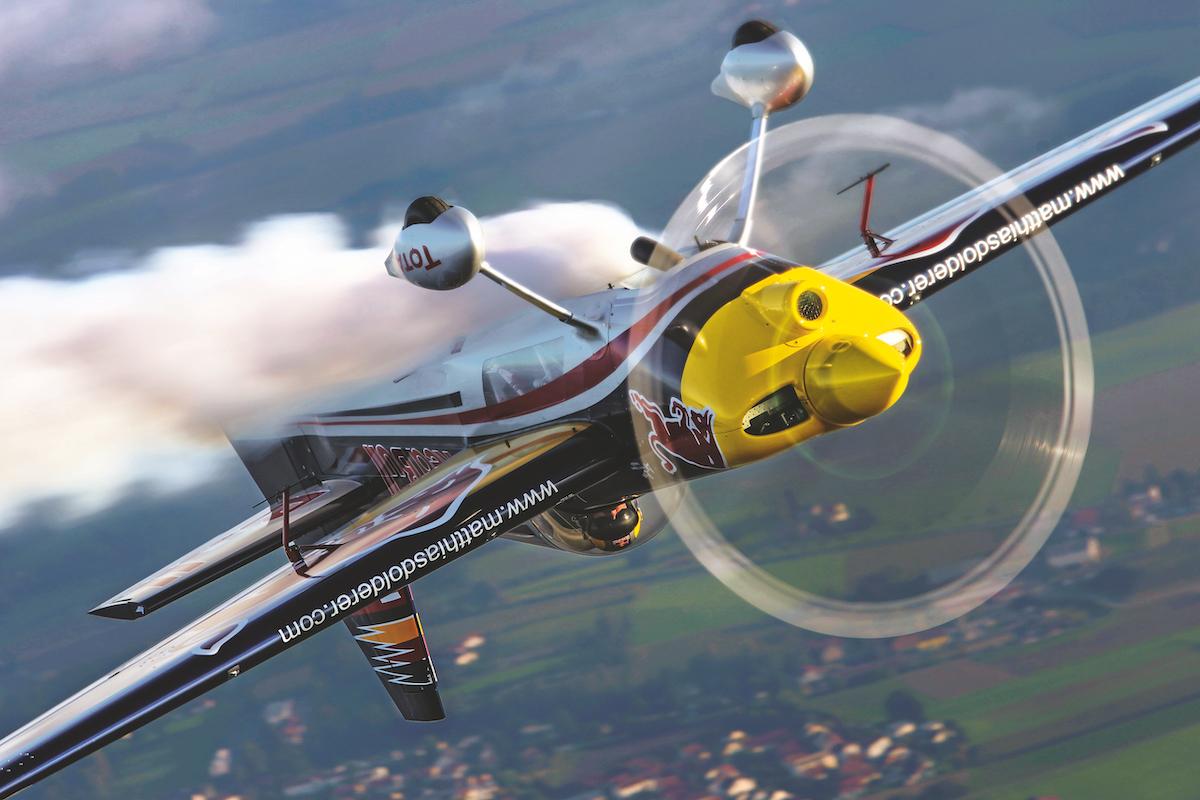 Flugzeugreportage: Zivko Edge 540