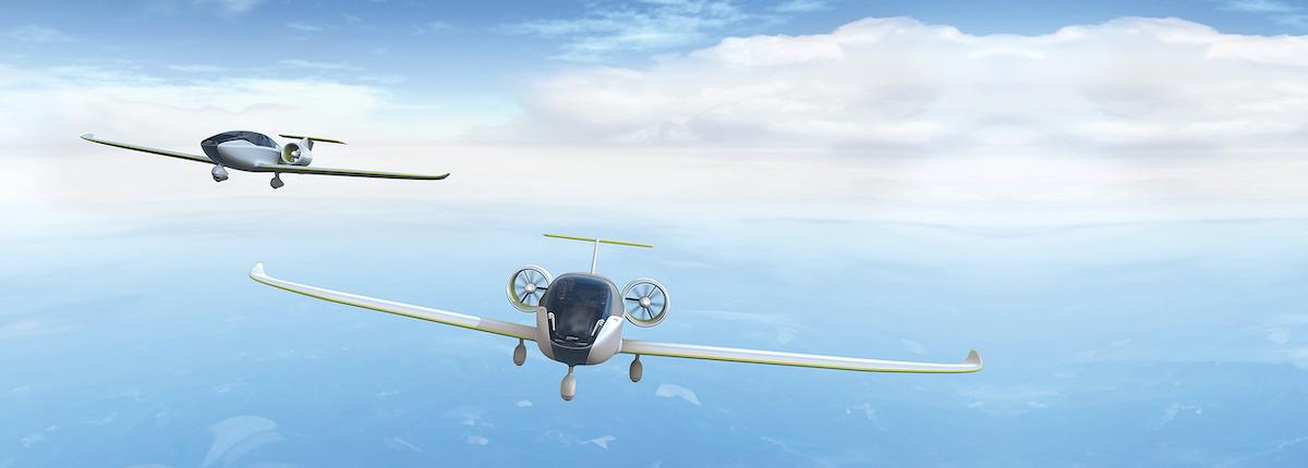Kleinflugzeuge mit Elektroantrieb: E-Fan-Serie von Airbus