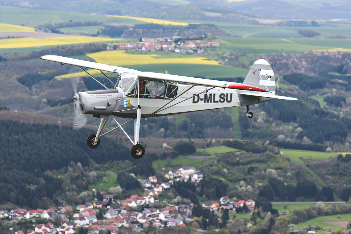 UL-Pilot-Report: Podešva Fi 156 Storch