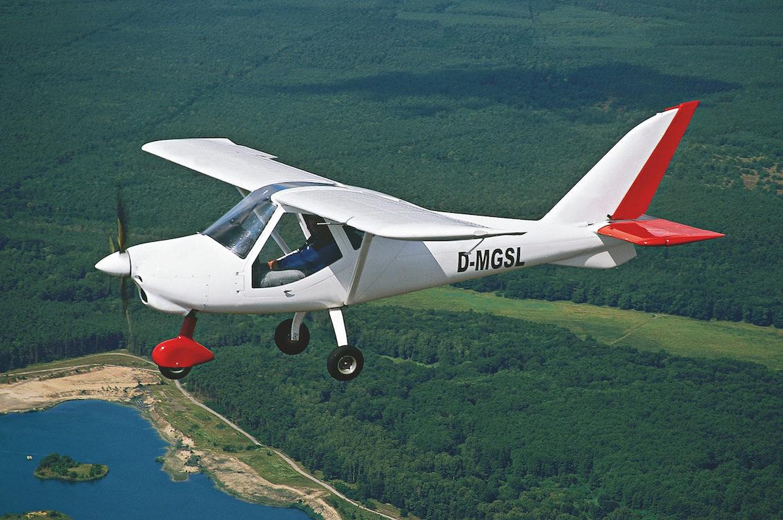Ultraleicht Pilot Report: MD3 Rider von Flyitalia