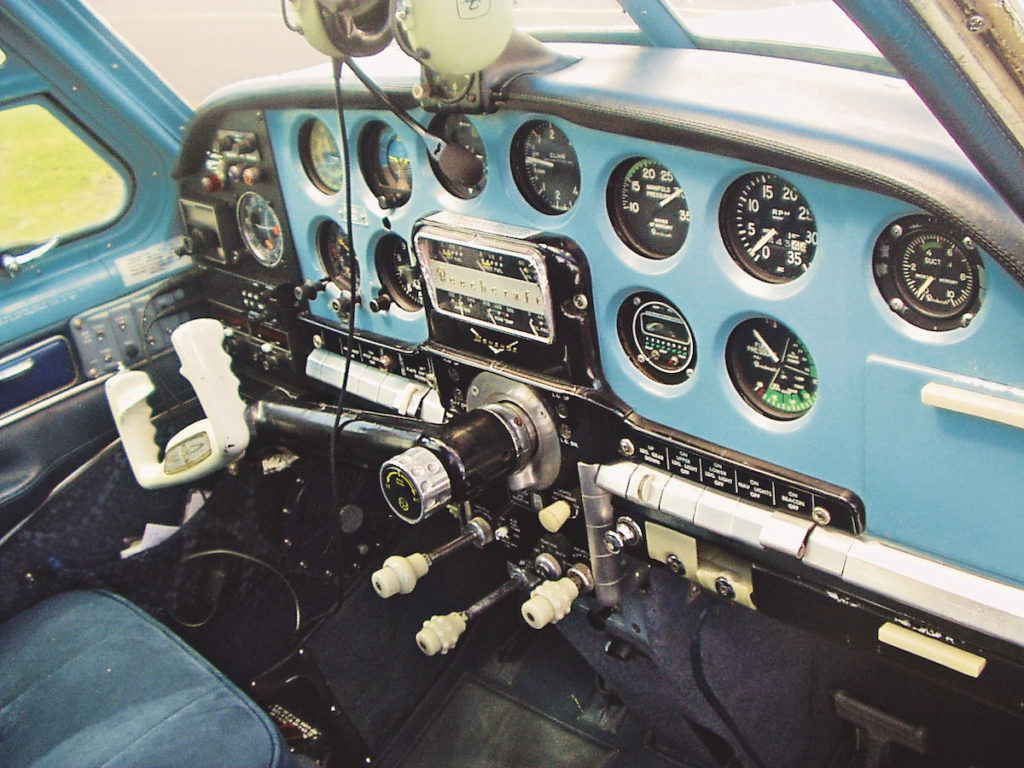 Beechcraft Bonanza Cockpit