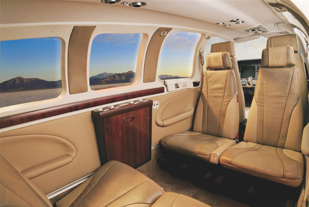 Beechcraft Bonanza A36 Clubseating