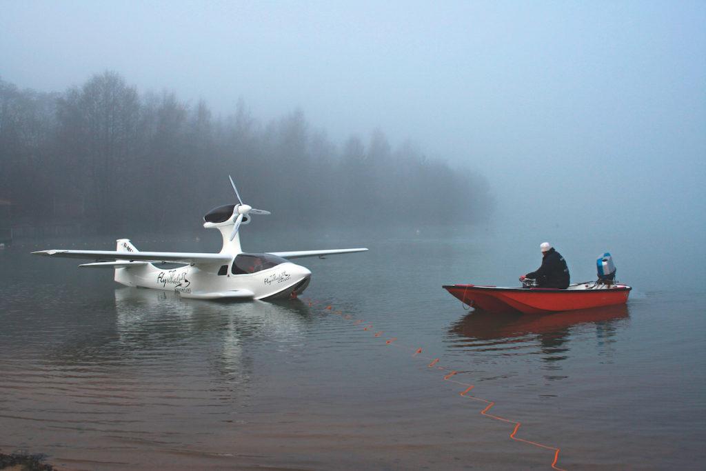 Flywhale UL-Wasserfliegen
