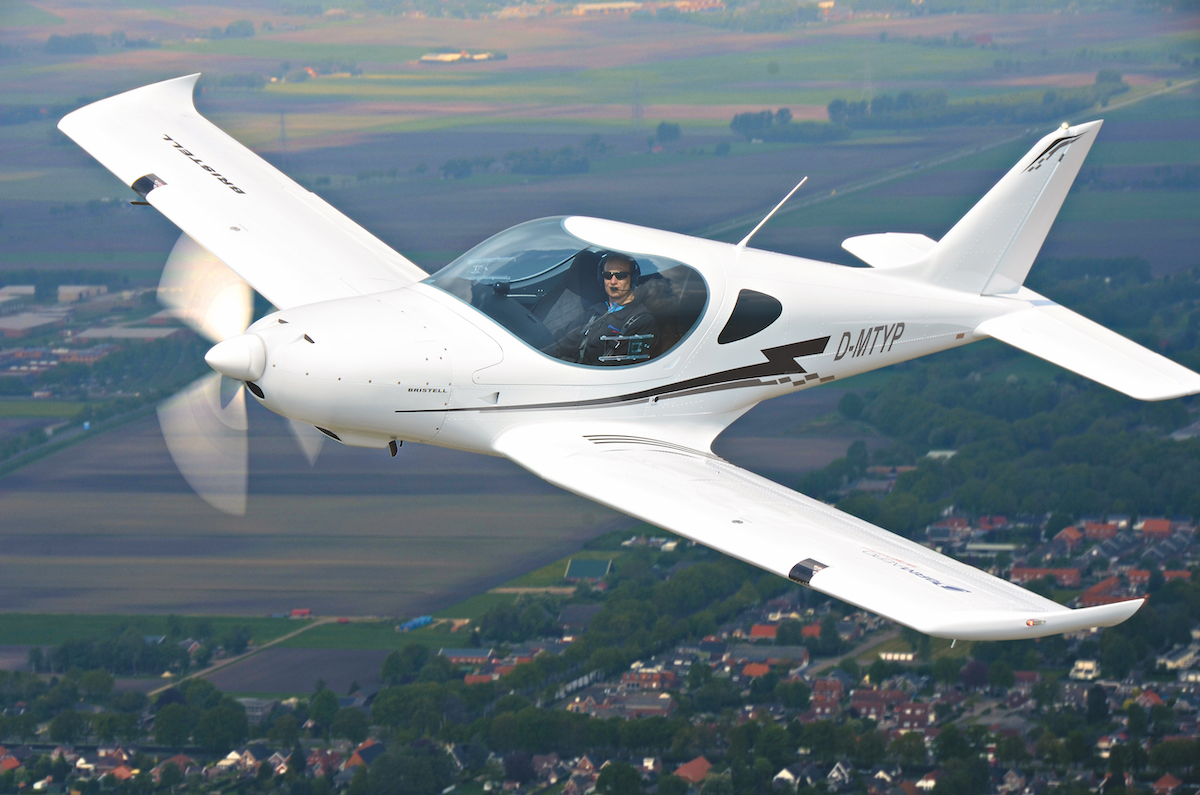 UL-Pilot-Report: Bristell RG von BRM Aero