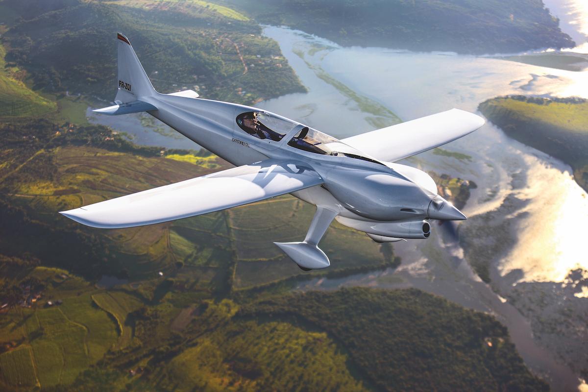 Flugzeug-Porträt: Rekordflugzeug CEA-311 Anequim