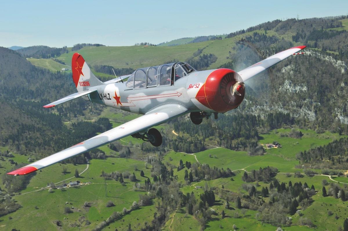 Flugzeug-Porträt: Airshow-Pilot David Oldani und seine Yak-52