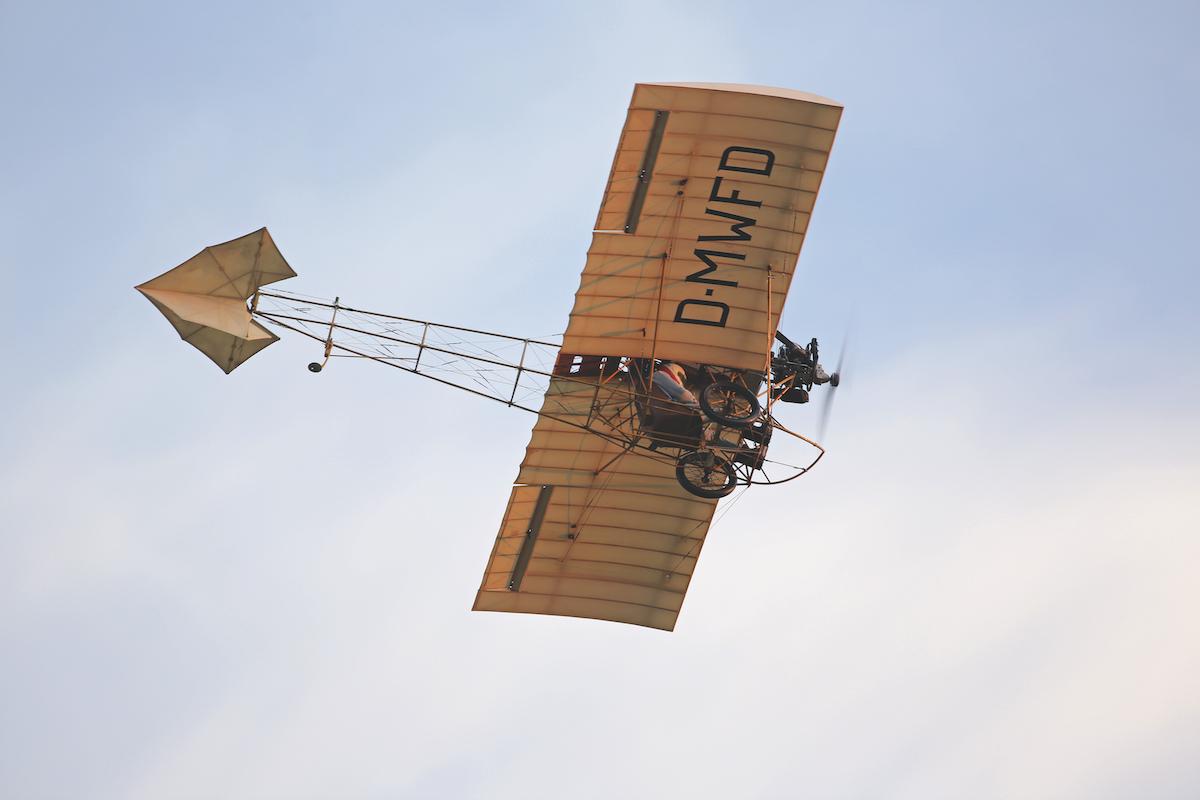 Flugzeug-Porträt: Demoiselle II von Weller Flugzeugbau