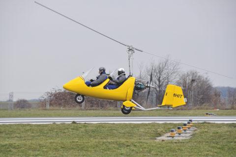 Besuch bei der Tragschrauber-Flugschule Hildesheim