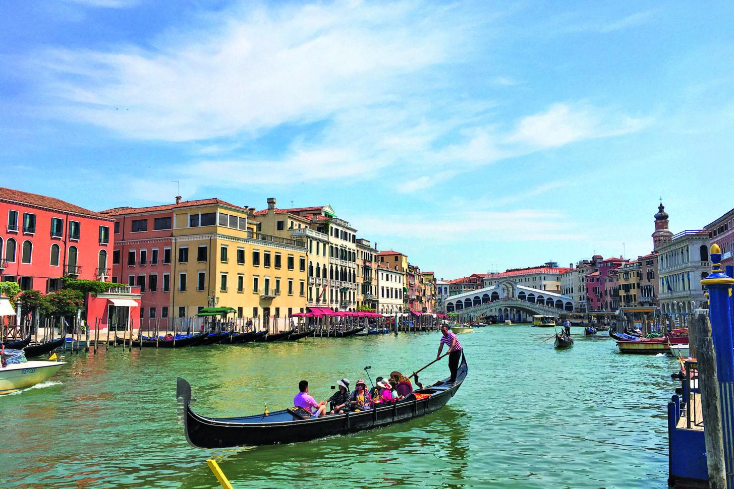 Venedig ist der erste Stopp unserer Reise rund um Italien