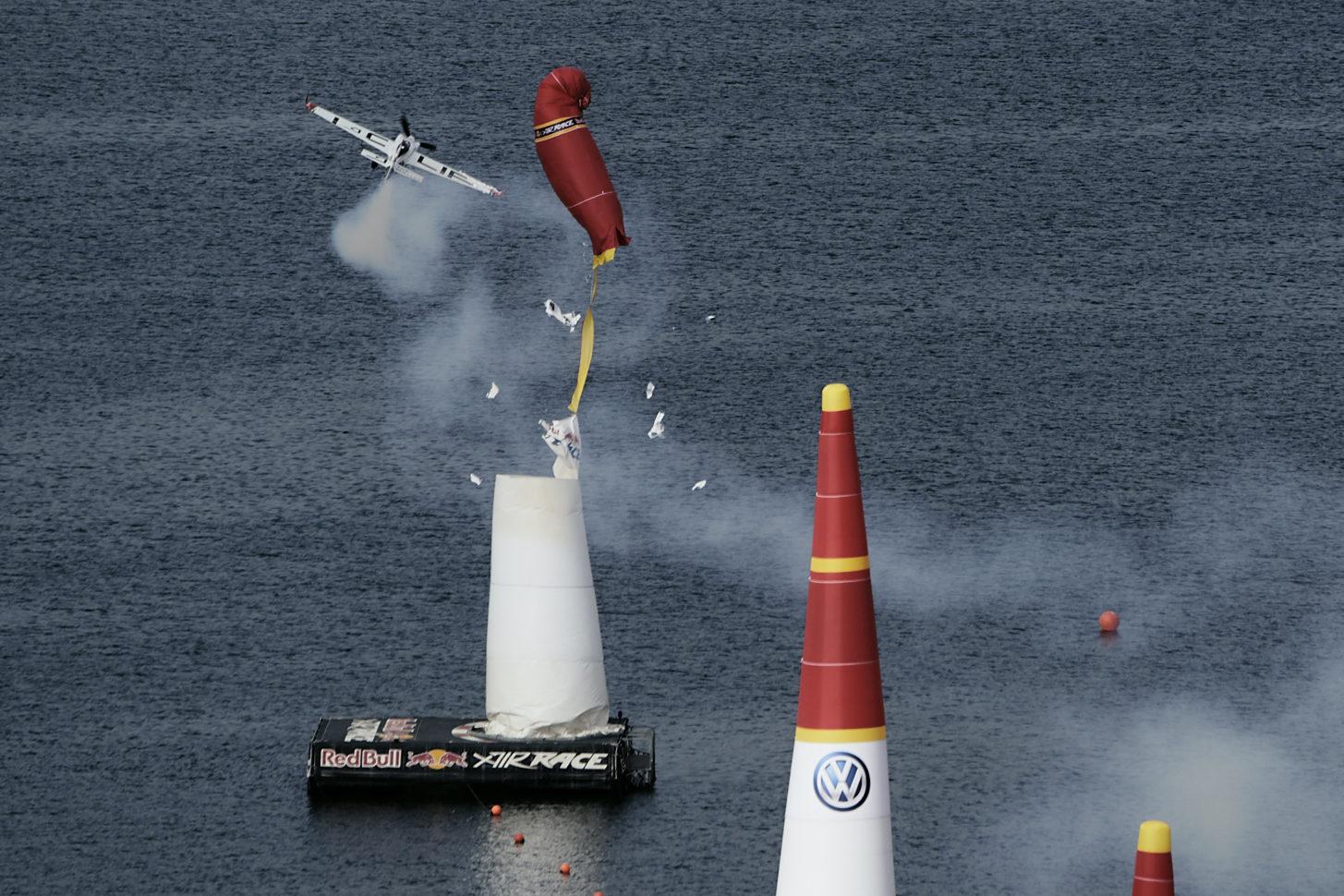 Pylonentreffer: Der Deutsche Matthias Dolderer