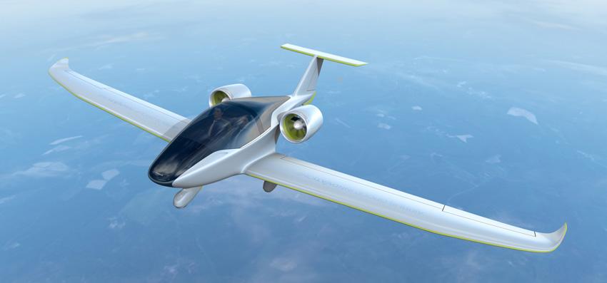 Unter Strom: Zweisitziges Kleinflugzeug E-Fan 2.0 mit elektrischem Antrieb
