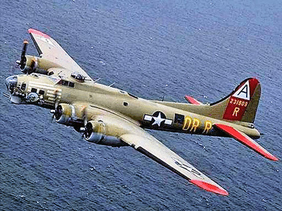 Boeing B-17 Abgestürzt