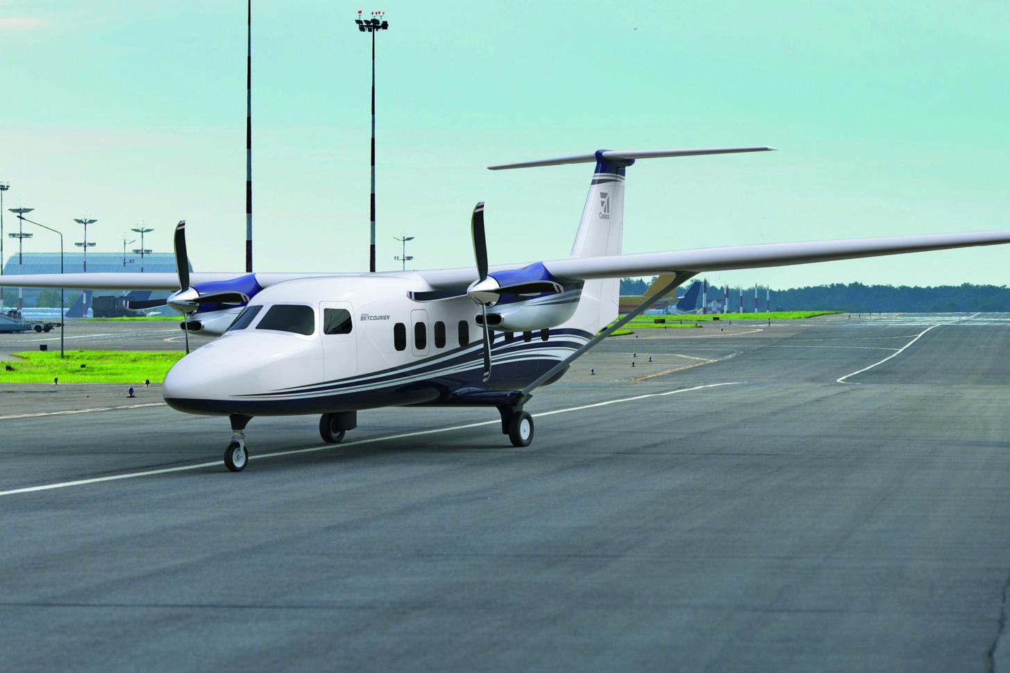 Die Cessna 408 SkyCourier