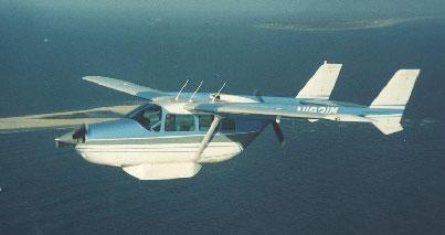 Cessna 337 Skymaster: Die Flügelaufhängung der unkonventionellen Zweimot muss auf Risse und Korrosion überprüft werden