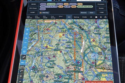 Die Navigations-App ForeFlight