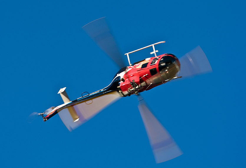 Red Bull-Helikopter BO-105