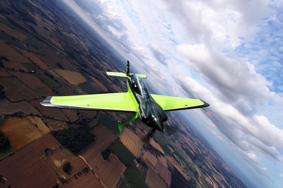 Spaßmaschine: Akro-Flieger GB1
