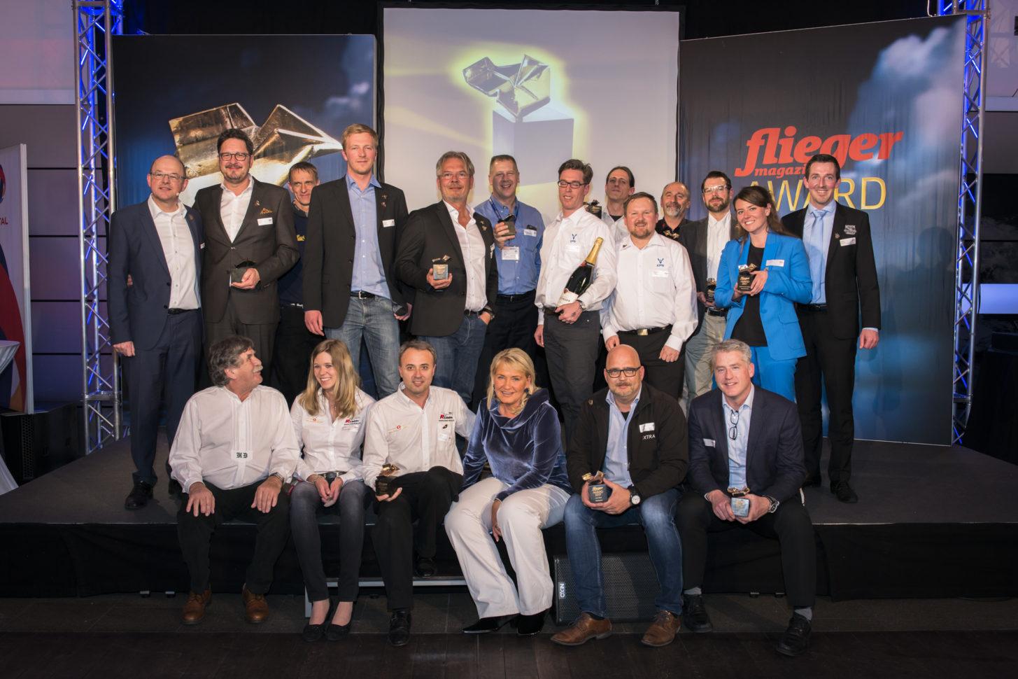 Die Gewinner der fliegermagazin Awards 2017