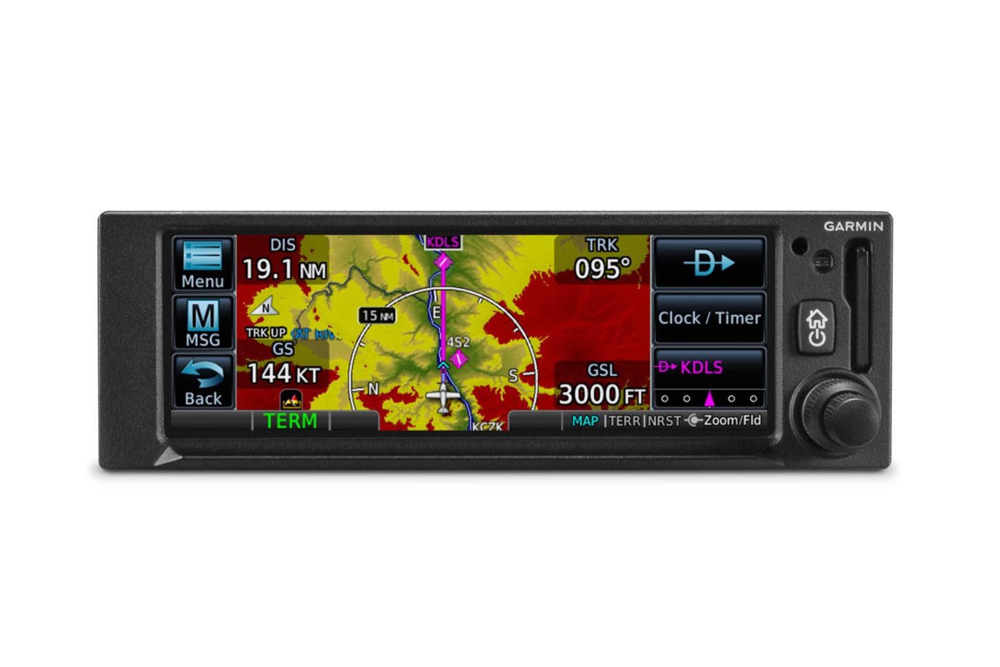 Der neue GPS-Navigator GPS 175 von Garmin
