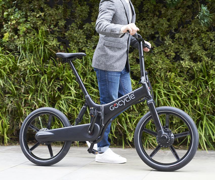 Coole Erscheinung: Gocycle GX, ein faltbares E-Bike
