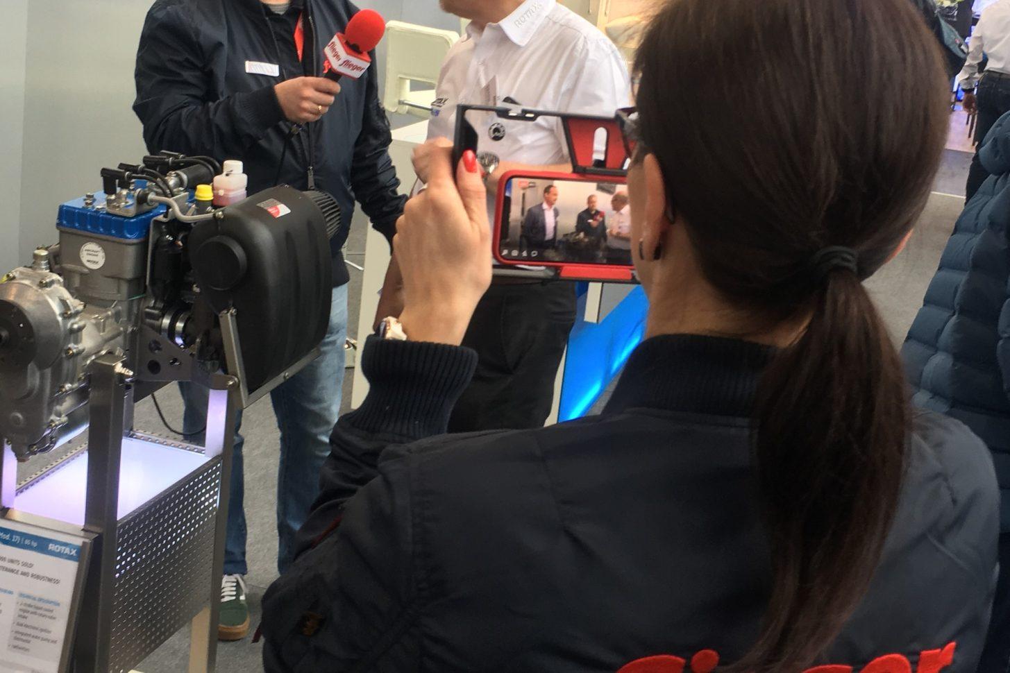Das fliegermagazin-Team zu Gast bei Rotax