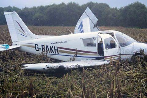 Die verunglückte Piper PA-28