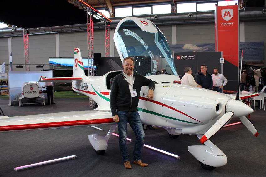 Ab sofort: Heinz Korella ist Musterbetreuer und Vertriebspartner für Magnus in Deutschland und der Schweiz
