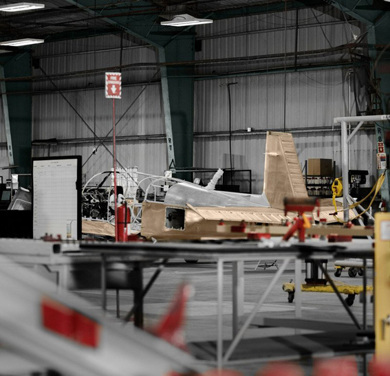Produktionsstop: Mooney-Fertigung in Kerrville, Texas