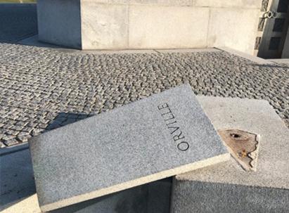 Weg: Orville Wrights Büste ist nicht mehr an ihrem Platz