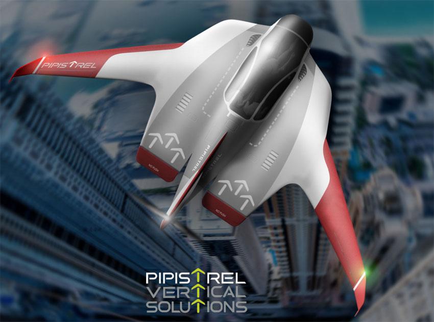 Raumschiff-artig: Wie aus einem Computerspiel wirkt der Entwurf von Pipistrels Senkrechstarter