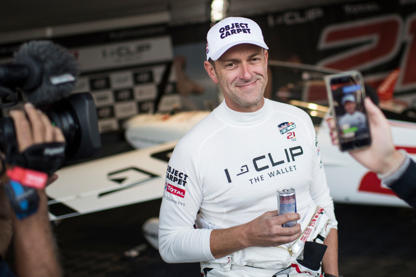 Der deutsche Red Bull Air Race Pilot Matthias Dolderer