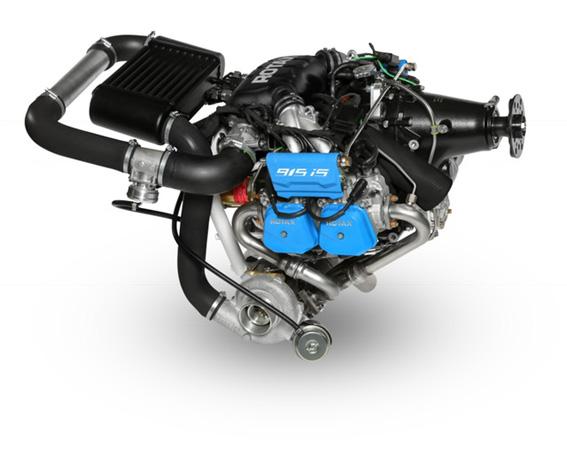 Kraftpaket: Rotax 915 mit Turbolader und elektronischer Einspritzung