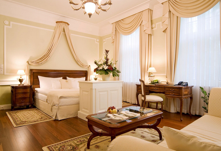 Stilvoll: die Honeymoon Suite