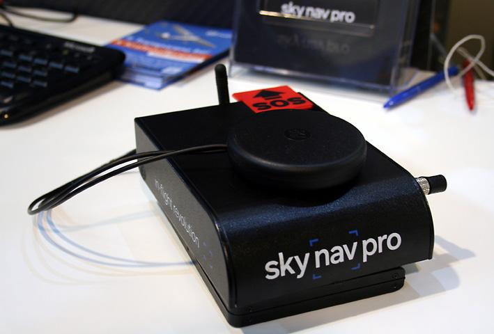 Wunderkiste: Die Hardware für Sky Nav Pro steckt in einer kompakten Box