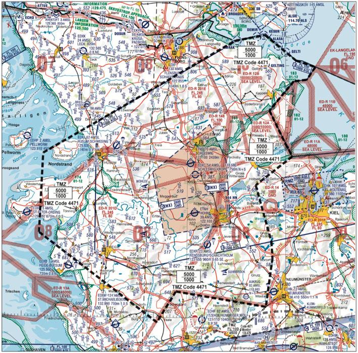 Beachten: TMZ Schlei in Norddeutschland