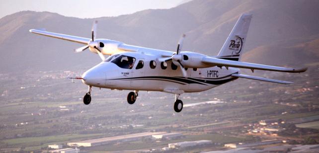 Vielseitig: VIP-Flüge, Frachtverkehr, Fallschirmsprung - die P2012 ist für verschiedenste Zwecke einsetzbar