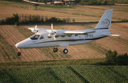 Erstflug: Tecnams Mehrzweck-Flugzeug P2012 Traveller