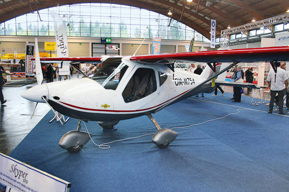 Im Anflug: Die Skyper GT9 soll noch in diesem Jahr die deutsche Musterzulassung bekommen
