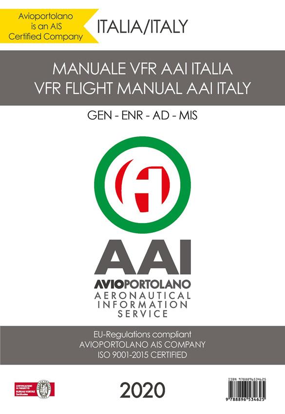 Neu: VFR-Regelwerk für Italien von Avioportolano