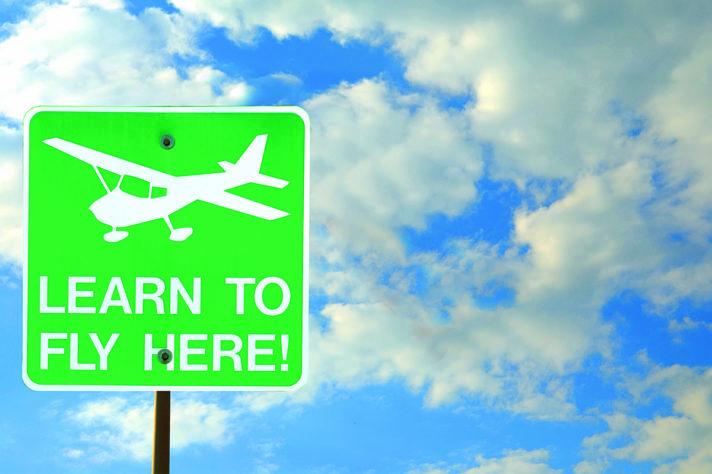 Flugschulverzeichnis: Hier können Sie fliegen lernen!