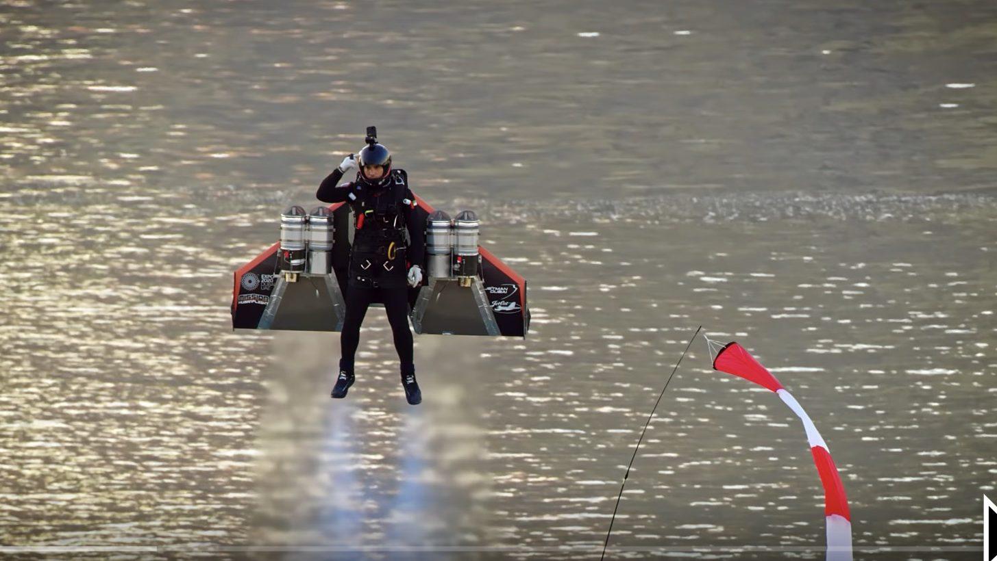 Jetman, Vince Reffet