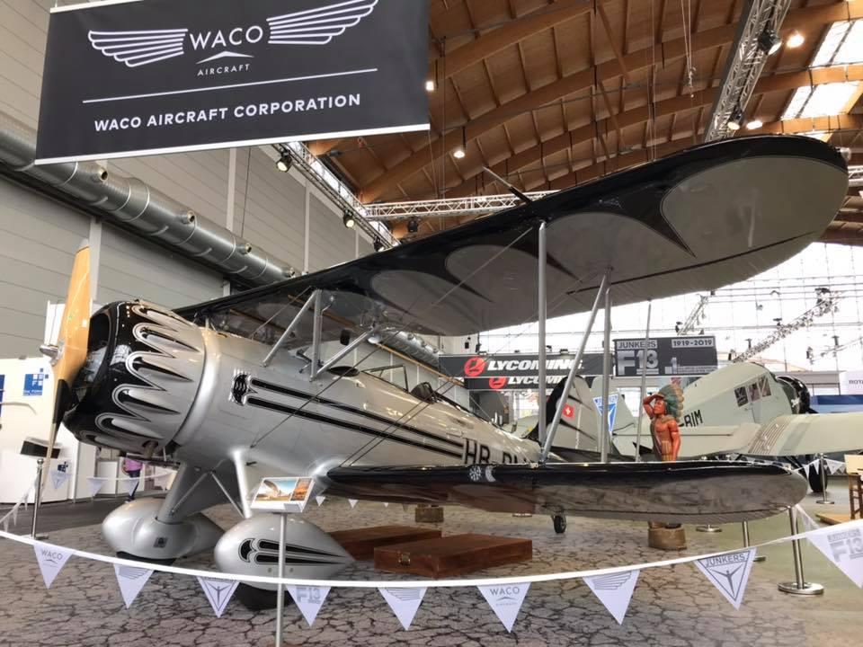Auf der AERO waren Waco und Junkers F13 zusammen zu sehen