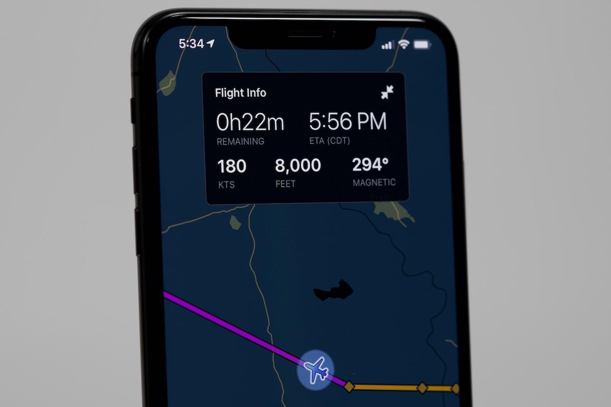 Die ForeFlight Passenger App