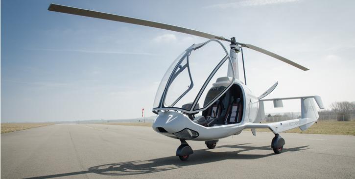 Keine Luftnummer: Der Rotorvox C2A hat die deutsche Musterzulassung, die erste Maschine ist schon an einen Kunden ausgeliefert