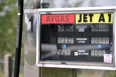 Tankstelle Avgas