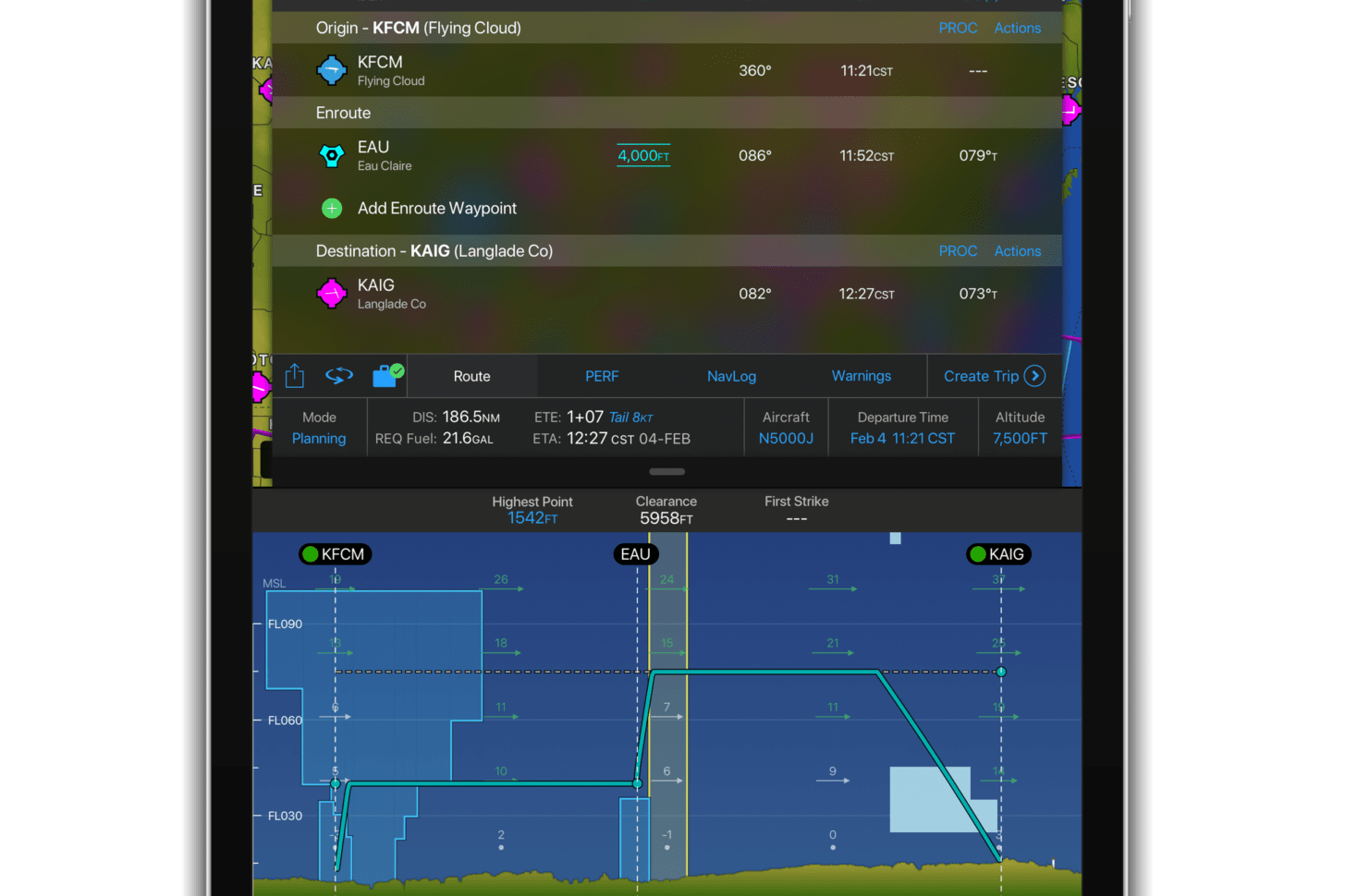 Garmin Pilot 10.0