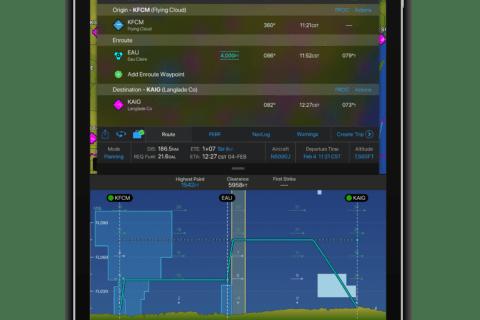 Navigations-App Garmin Pilot mit neuen Features