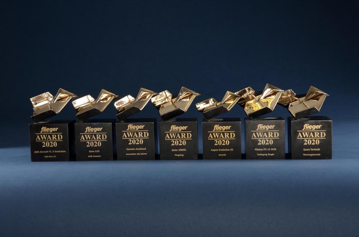 fliegermagazin Award 2020 für die Besten der Branche